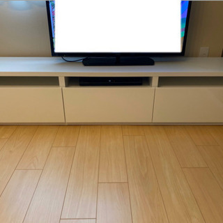 IKEA BESTA べストー テレビ台 白