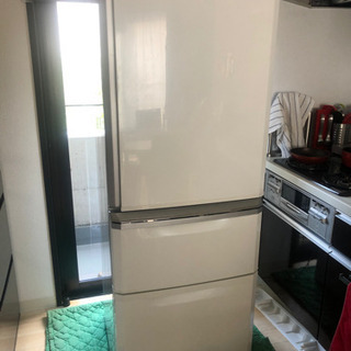 冷蔵庫差し上げます。三菱335L 2014年製