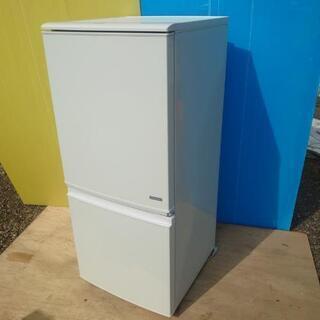 シャープノンフロン冷凍冷蔵庫【型式SJ-C14C-W】2017年製