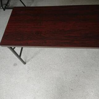 会議テーブル ウチダ  高さ二段階調整可