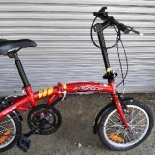 16型 折り畳み式 自転車