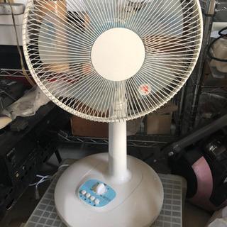 19年製 30cm卓上扇風機 JA-AMLF30-WH-19
