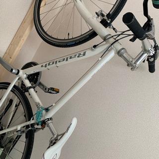 Raleigh クロスバイク 室内保管