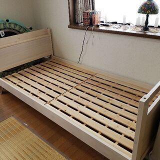 2段ベッドの下のベッドのみ
