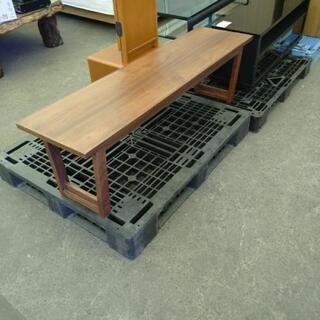 高級家具🎵ウォールナット ベンチ(天然木突板)✨