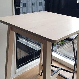 IKEA ダイニングテーブル ハイチェアセット