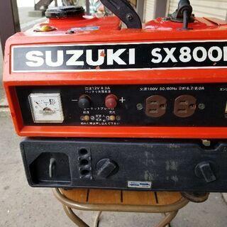 発電機スズキSX800R
