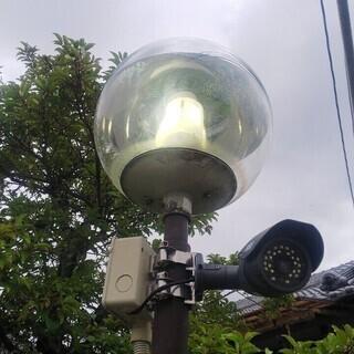 水銀灯LEDに交換します。