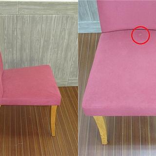 sm0043 ダイニングチェア 2脚セット クッション性 紫色 食卓用椅子 パープル イス おしゃれ いす 一人掛け インテリア ダイニング 椅子 チェア 食卓 - 家具
