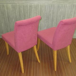 sm0043 ダイニングチェア 2脚セット クッション性 紫色 食卓用椅子 パープル イス おしゃれ いす 一人掛け インテリア ダイニング 椅子 チェア 食卓 - 札幌市