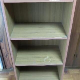 4段 カラーボックス 収納