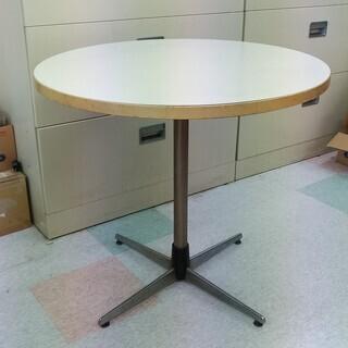 【無料】丸テーブル 直径75㎝ オフィス家具