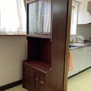 家具3点 至急処分希望 飾り棚・鏡台・学習机
