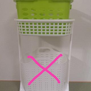 ランドリー ボックス ★ 洗濯 かご セット