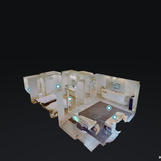 3Dバーチャルツアーを作成する撮影サービス (Matterport)