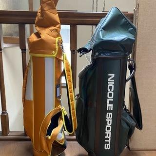 ゴルフバッグ 2つ