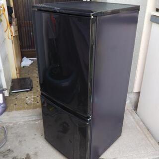 SHARP1人暮らし用冷凍冷蔵庫SJ-D14A-B