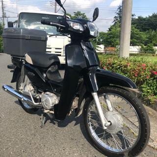 ブラックボディ!カブ50cc PRO ガソリン満タンにて♪
