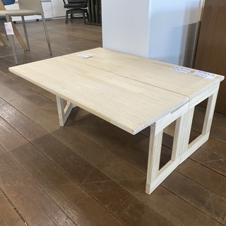 試作で作った文机です。木工DIYがお得意ならオイル塗装して頂けれ...