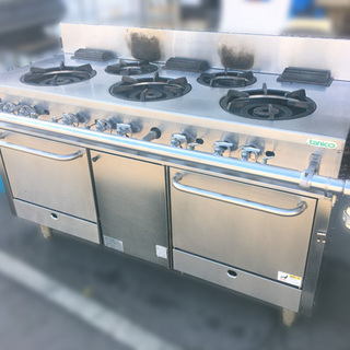 TANICO/タニコー 業務用熱機器 ガスレンジ アルファシリー...