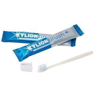 【キャップ付】 歯磨粉付き 使い捨て歯ブラシ 4本(No.19...