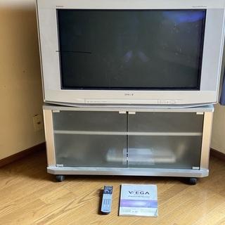 テレビもらってください。
