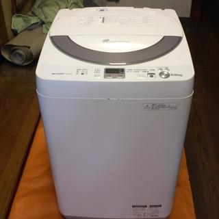 SHARP 5.5kg 全自動洗濯機 縦型 ES-GE55N-S