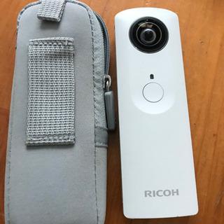 RICOH THETA m15 カメラ 動画 360度カメラ