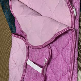 両面使える強冷感敷きパッド&枕カバーセット お値下げしました!
