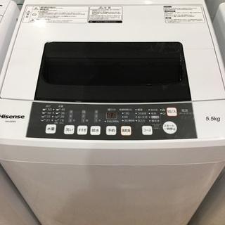 【安心1年保証付】ハイセンス 全自動洗濯機 HW-E5502 2...