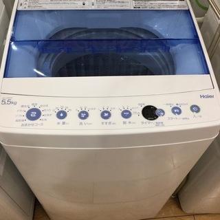 【安心6ヶ月保証付】Haier 全自動洗濯機 JW-C55CK ...