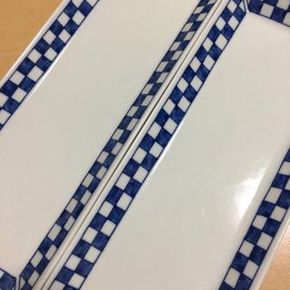 【美品】食器 長皿 2枚セット