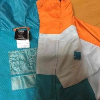 DC スキー ボード ウエア オレンジ 水色 - 服/ファッション
