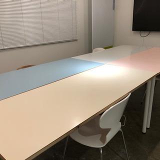 IKEAの オディリス 付きオリジナルテーブル