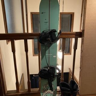 スノーボード 板+ブーツ ケース有