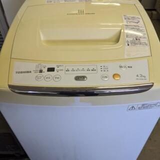 東芝 4.2kg 洗濯機 2012年製 AW-42ML