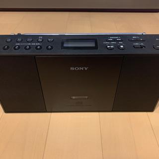 【美品】SONY  CDプレーヤー ラジオ ZS-E30