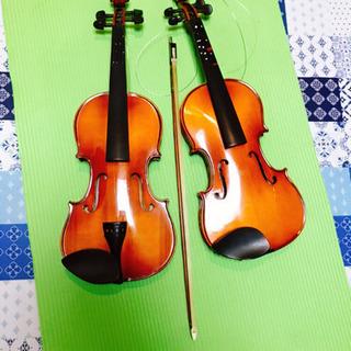 バイオリン 二個 弓