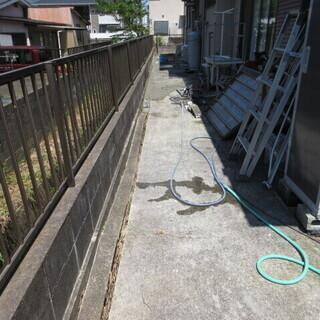 コンクリート、亀裂補修、便利屋、福岡、格安、セメントミルク、地盤沈下