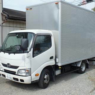 日野自動車 デュトロ2トン ワイド・セミロングアルミバン AT車...