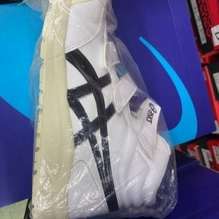 アシックス安全靴限定白