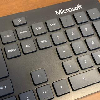 Bluetoothワイヤレスキーボード マイクロソフト純正