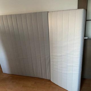 IKEA ダブルサイズ マットレス
