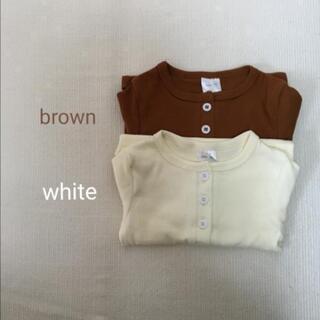 【新品】韓国子供服 ロンパース 60