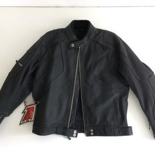 未着用 ライディング ジャケット 革ジャン アメリカ Z1R 社製 黒