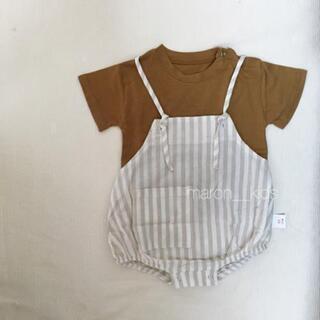 【新品】韓国子供服 サロペット ロンパース 66