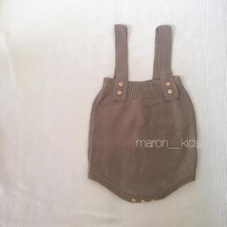 【新品】韓国子供服 ロンパース サロペット 73
