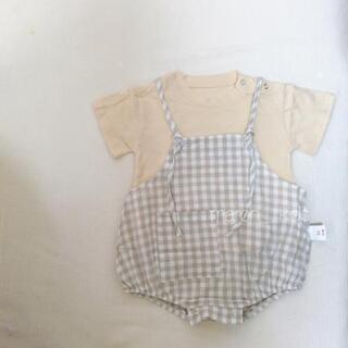 【新品】韓国子供服 サロペット Tシャツ 66