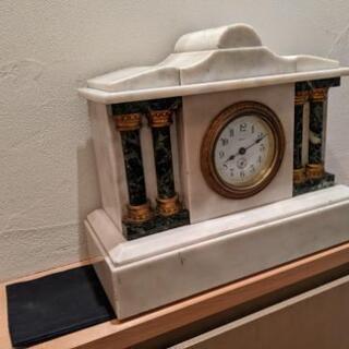 骨董大理石置き時計TOYO Clock