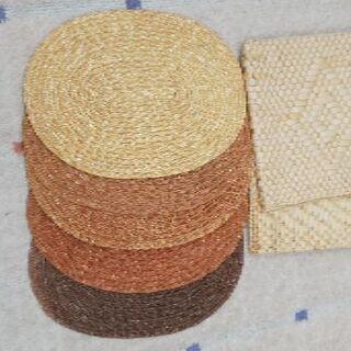 ダイソーアジアン風のランチョンマット&座布団